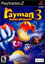 Box cover for Rayman 3: Hoodlum Havoc on the Sony Playstation 2.