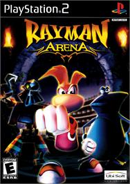 Box cover for Rayman Arena on the Sony Playstation 2.