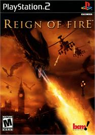 Box cover for Reign of Fire on the Sony Playstation 2.