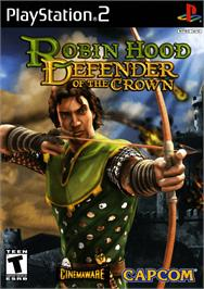 Box cover for Robin Hood: Defender of the Crown on the Sony Playstation 2.
