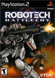 Box cover for Robotech: Battlecry on the Sony Playstation 2.