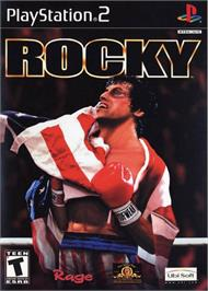 Box cover for Rocky on the Sony Playstation 2.