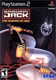 Box cover for Samurai Jack: The Shadow of Aku on the Sony Playstation 2.