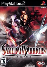 Box cover for Samurai Warriors on the Sony Playstation 2.