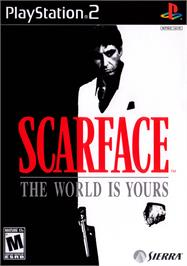 Box cover for Scarface: The World is Yours on the Sony Playstation 2.