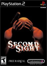 Box cover for Second Sight on the Sony Playstation 2.