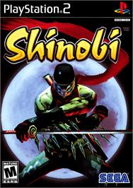 Box cover for Shinobi on the Sony Playstation 2.