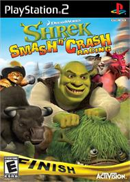 Box cover for Shrek Smash N' Crash Racing on the Sony Playstation 2.