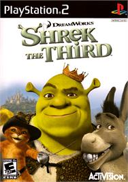 Box cover for Shrek the Third on the Sony Playstation 2.