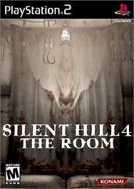 Box cover for Silent Hill 4: The Room on the Sony Playstation 2.