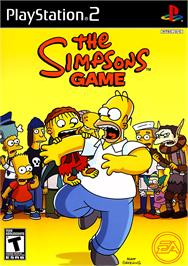 Box cover for Simpsons Game on the Sony Playstation 2.