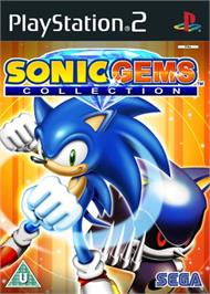 Box cover for Sonic Gems Collection on the Sony Playstation 2.