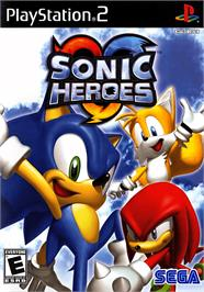Box cover for Sonic Heroes on the Sony Playstation 2.
