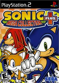 Box cover for Sonic Mega Collection Plus on the Sony Playstation 2.