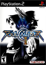 Box cover for SoulCalibur 2 on the Sony Playstation 2.
