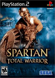 Box cover for Spartan: Total Warrior on the Sony Playstation 2.