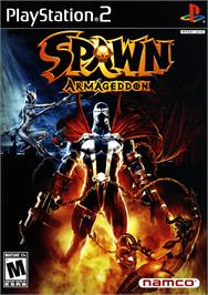 Box cover for Spawn: Armageddon on the Sony Playstation 2.