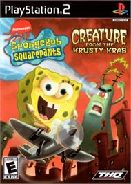 Box cover for SpongeBob SquarePants: Creature from the Krusty Krab on the Sony Playstation 2.