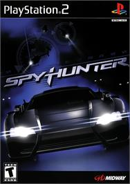 Box cover for Spy Hunter on the Sony Playstation 2.