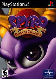 Box cover for Spyro: Enter the Dragonfly on the Sony Playstation 2.