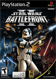 Box cover for Star Wars: Battlefront 2 on the Sony Playstation 2.