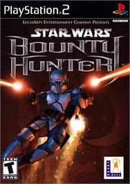 Box cover for Star Wars: Bounty Hunter on the Sony Playstation 2.