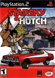 Box cover for Starsky & Hutch on the Sony Playstation 2.