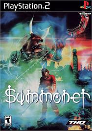 Box cover for Summoner 2 on the Sony Playstation 2.