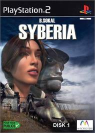 Box cover for Syberia on the Sony Playstation 2.