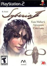 Box cover for Syberia 2 on the Sony Playstation 2.