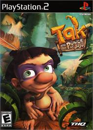 Box cover for Tak and the Power of Juju on the Sony Playstation 2.