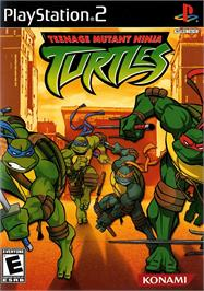 Box cover for Teenage Mutant Ninja Turtles on the Sony Playstation 2.
