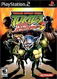Box cover for Teenage Mutant Ninja Turtles 3: Mutant Nightmare on the Sony Playstation 2.