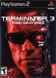 Box cover for Terminator 3: Rise of the Machines on the Sony Playstation 2.