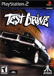 Box cover for Test Drive on the Sony Playstation 2.