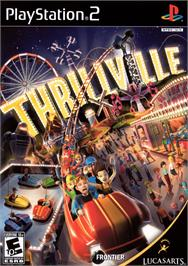 Box cover for Thrillville: Off the Rails on the Sony Playstation 2.
