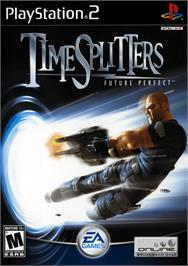 Box cover for TimeSplitters: Future Perfect on the Sony Playstation 2.