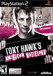Box cover for Tony Hawk's American Wasteland on the Sony Playstation 2.