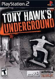Box cover for Tony Hawk's Underground 2 on the Sony Playstation 2.