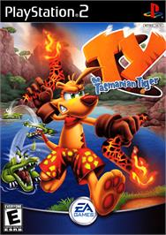Box cover for Ty the Tasmanian Tiger on the Sony Playstation 2.