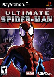 Box cover for Ultimate Spider-Man on the Sony Playstation 2.