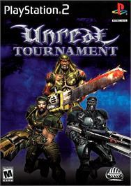 Box cover for Unreal Tournament on the Sony Playstation 2.