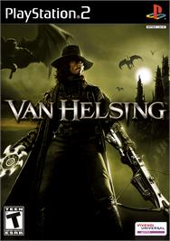 Box cover for Van Helsing on the Sony Playstation 2.