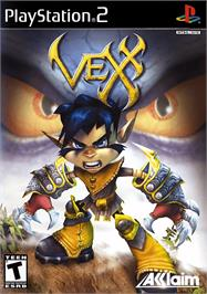 Box cover for Vexx on the Sony Playstation 2.
