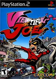 Box cover for Viewtiful Joe on the Sony Playstation 2.