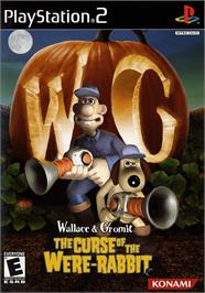 Box cover for Wallace & Gromit: The Curse of the Were Rabbit on the Sony Playstation 2.