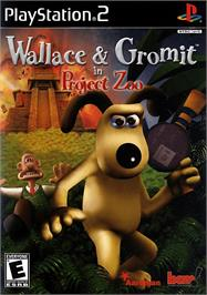 Box cover for Wallace & Gromit in Project Zoo on the Sony Playstation 2.