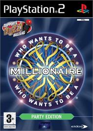 Box cover for Who Wants to be a Millionaire: Party Edition on the Sony Playstation 2.