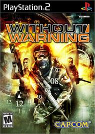 Box cover for Without Warning on the Sony Playstation 2.