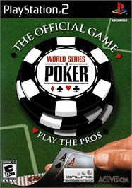 Box cover for World Series of Poker: Tournament of Champions on the Sony Playstation 2.